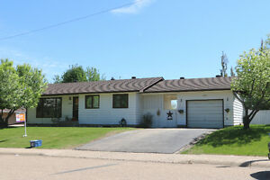 SOLD -Renovated Bungalow in Athabasca with Scenic Ravine View