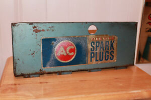 AC Fire Ring Spark Plug Sign