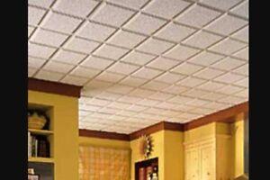 Acoustic ceilings / suspended ceilings / t-bar / drop ceilings Kitchener / Waterloo Kitchener Area image 1