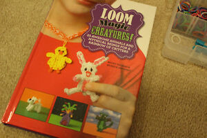 Rainbow Loom Kit plus Book Peterborough Peterborough Area image 2