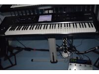 Yamaha Motif XF 6 + 512 mb flashboard fully loaded with sounds