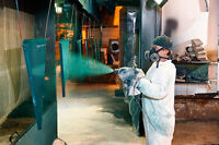 Production Painting Services including Powder Coating