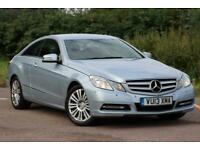 2013 Mercedes-Benz E-CLASS 2.1 E250 CDI BLUEEFFICIENCY SE S/S 2d 204 BHP Coupe D