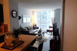 Downtown 1 bd condo Front and Spadina $1800