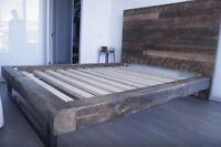 RUSTIC  BARNWOOD  BEDS