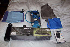 Camping backpacking travel gear tent camelbak charger Backpack