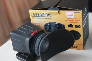 Seven Oak 2.5 viewfinder