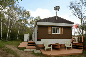 64 Foot - Mobile Home Cottage at Lake of the Prairies