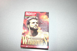 50 Movie Pack Warriors DVD's