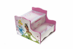 Disney Princess Cd player and Step stool with storage drawer. Windsor Region Ontario image 1
