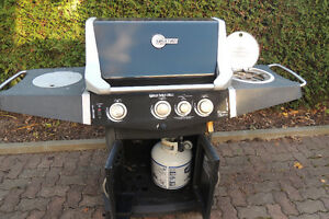 "BBQ with Powered Rotisserie Blue Ember 57,000 BTU, 27"" West Island Greater Montréal image 1"