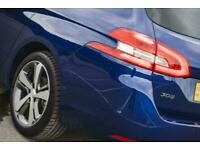 2019 Peugeot 308 1.2 PureTech 130 GT Line 5dr Estate Estate Petrol Manual