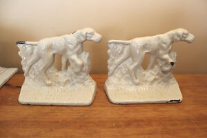 Pair of Old Dog Bookends