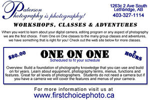 Photography Courses, for all level of photographers