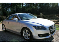 2007 (57) AUDI TT 2.0TFSI 2 DR MANUAL PETROL COUPE WARRANTIED LOW MILEAGE FSH