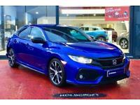 2017 Honda Civic 1.0 VTEC Turbo SR 5dr CVT Auto Hatchback Petrol Automatic