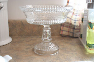Clear Glass Fruit Bowl