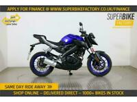 2018 18 YAMAHA MT-125 ABS - PART EX YOUR BIKE