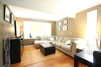 Beautiful 2 Bed/2 Bath Upper Suite on Pleasant St
