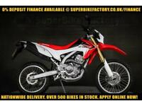 2015 15 HONDA CRF250L 250CC 0% DEPOSIT FINANCE AVAILABLE