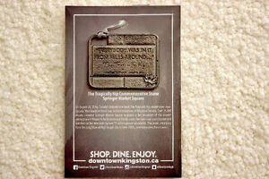 The Tragically Hip Special Edition Pewter Ornament