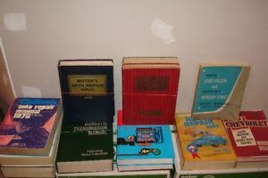 Numerous Auto Repair Manuals