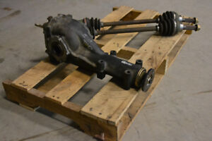 JDM GC8 Subaru STI Rear LSD R160 Differential With Axles 4.44