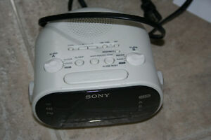 Sony ICF-C318 Clock Radio with Dual Alarm