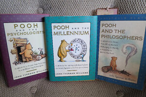 Pooh & Philosophers, Psychologists and Millenium, all 3 for $10 Gatineau Ottawa / Gatineau Area image 1