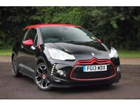 2013 CITROEN DS3 E-HDI AIRDREAM DSPORT RED HATCHBACK DIESEL