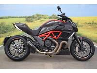 Ducati Diavel Carbon **Remus Exhaust, ABS, Datatag Protection**