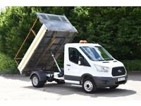 2.2 350 C/C DRW 2D 125 BHP MWB SINGLE CAB EURO 5 DIESEL MANUAL TIPPER 2015