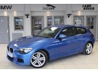2013 63 BMW 1 SERIES 2.0 120D M SPORT 3D 181 BHP DIESEL