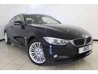 2014 14 BMW 4 SERIES 2.0 420D XDRIVE LUXURY 2DR 181 BHP DIESEL