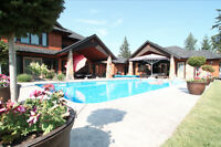 5 Bdrm Gentleman's Estate with pool on 3 acres - MUST SEE!!