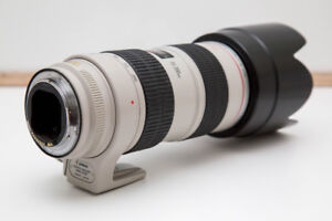 Canon 70-200mm f/2.8 L IS USM Lens to be repaired or for parts
