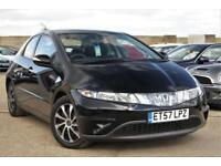 2008 HONDA CIVIC 1.3 I-DSI SE I-SHIFT AUTOMATIC JUST SERVICED + VERY LOW MILES
