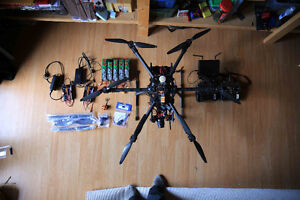 Hexacopter aerial video/photo setup