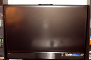 JVC HD61FC97 61 inch Rear Projector HD TV ~ Spectacular Picture