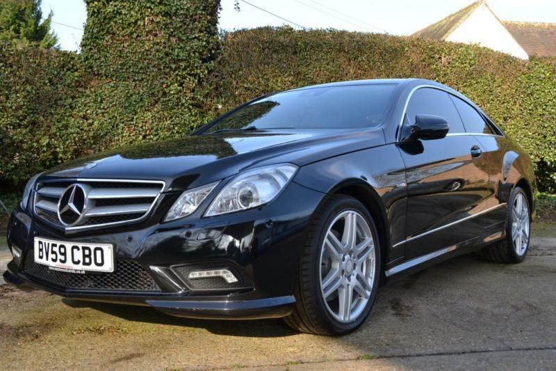 2009 mercedes e class e350 cdi blueefficiency sport coupe diesel in hartley kent gumtree. Black Bedroom Furniture Sets. Home Design Ideas