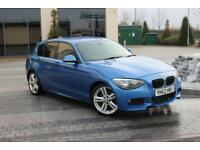 2012 62 BMW 1 SERIES 116D M SPORT 2.0 5D DIESEL