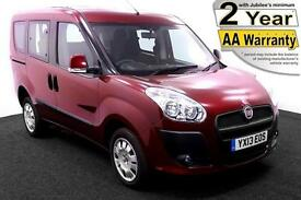 2013(13) FIAT DOBLO 1.4 MYLIFE LIBERTY LOW FLOOR WHEELCHAIR ACCESSIBLE VEHICLE