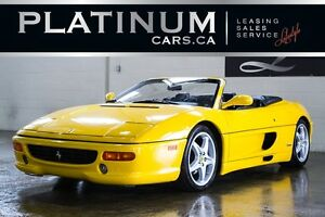 1999 Ferrari 355 SPYDER/ F1 TRANSMISSION/ ONLY 1,053 MADE/ FOR C