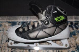 Reebok Goalie Skates size 6.5, shoe size 8