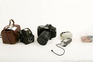 Vintage Film Cameras and Accessories       A
