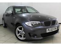 2013 63 BMW 1 SERIES 2.0 120I EXCLUSIVE EDITION 2DR AUTOMATIC 168 BHP