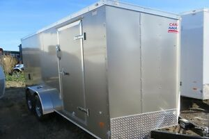 2017 7X16 Enclosed/Cargo Trailer Canadain Hauler - ARROW