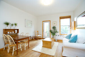 Superb bijoux meublé Mile End/Beautiful furnished Mile End flat