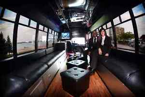 ~Limo Bus with WIFI and DJ service for *Special Event's*~ Windsor Region Ontario image 3