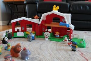 Little People Barn and Assortment